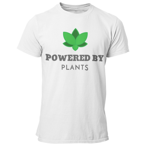 Vegan T-Shirt <br> Powered By Plants