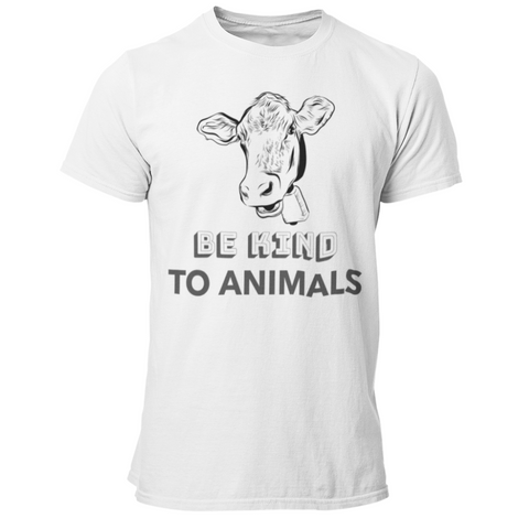 T-Shirt végan <br> Be Kind To Animals