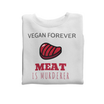Sweat végan <br> Meat Is Murderer