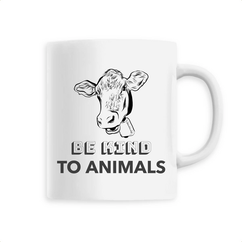 Mug végan <br> Be Kind To Animals