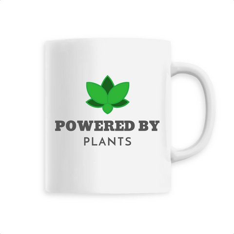 Mug végan <br> Powered By Plants