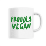 Mug végan <br> Proudly Vegan