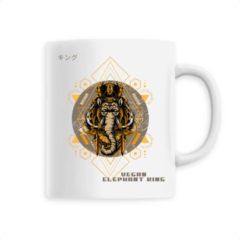 Mug végan <br> Vegan Elephant King