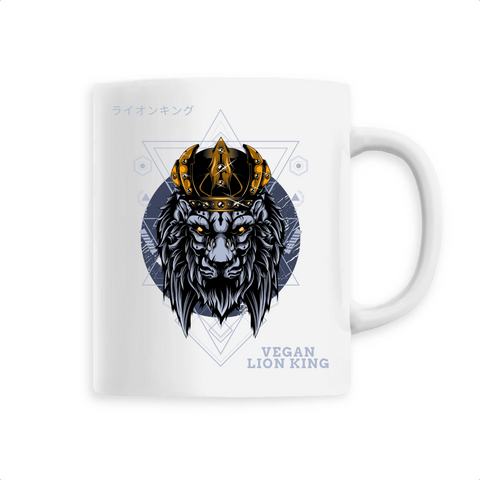 Mug végan <br> Vegan Lion King