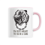 Mug végan <br> I'm Not Meant To Be In A Cage