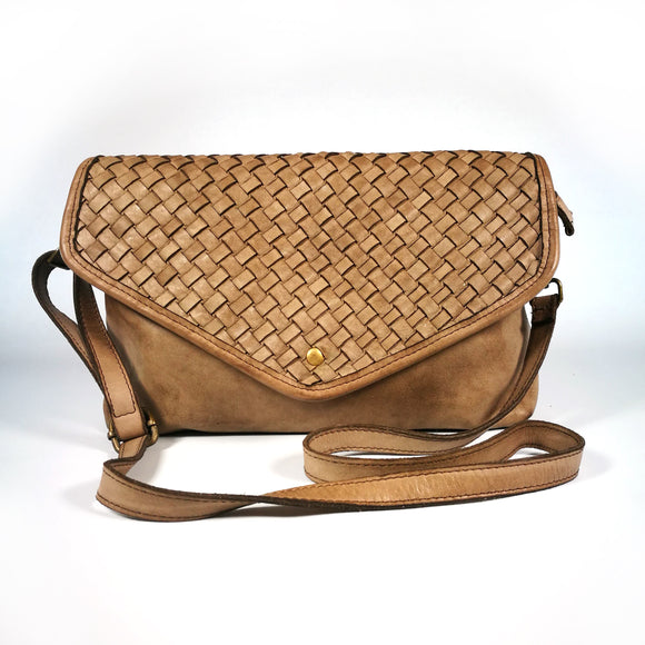 Leather crossbody-clutch MONICA - Republica Toscana Bags