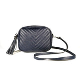 Small leather crossbody bag MATILDA - Republica Toscana Bags