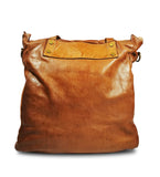 Leather tote bag IRENE - Republica Toscana Bags