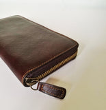 Leather wallet CATALINA