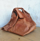 Leather big bag AIDA