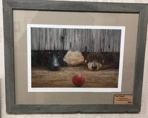 Bowled Under - Limited Edition Print - Sue Gasser