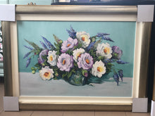 Load image into Gallery viewer, Mauve and White Roses - Christine Parrish