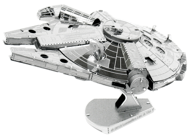 Millennium Falcon Star Wars 3D Model Kit - Metal Earth
