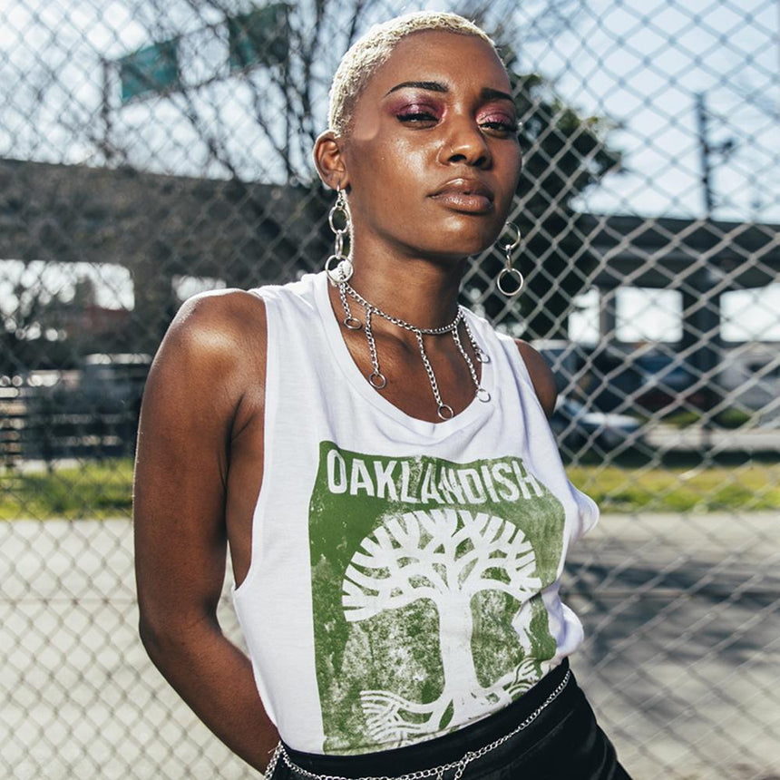 Women's Wheat Paste Tank