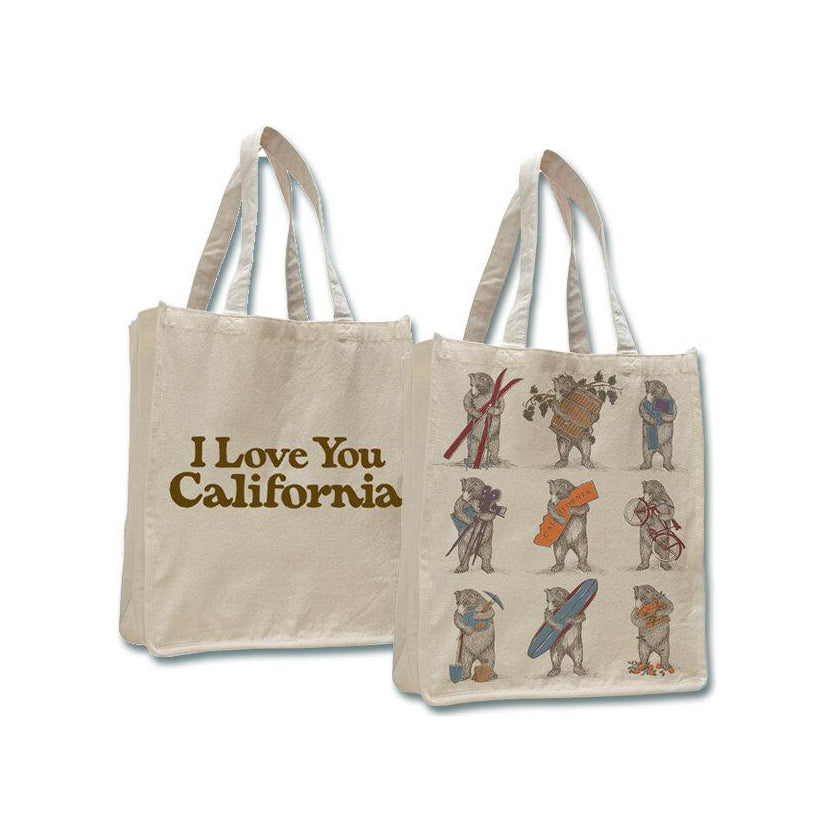 Nine Bears Jumbo Shopping Tote