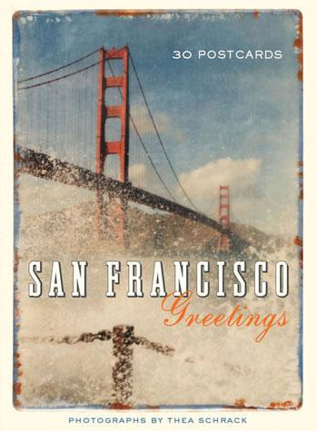 San Francisco Postcard Book