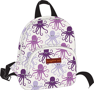 Octopus Kids Backpack