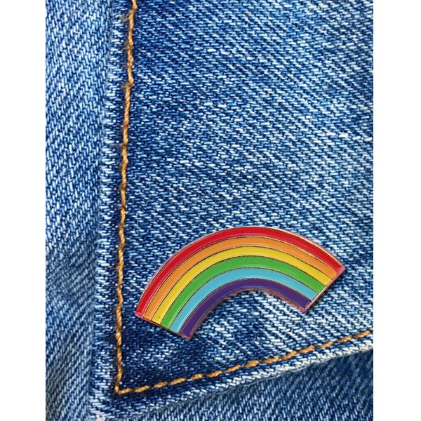 The Found Rainbow Pin