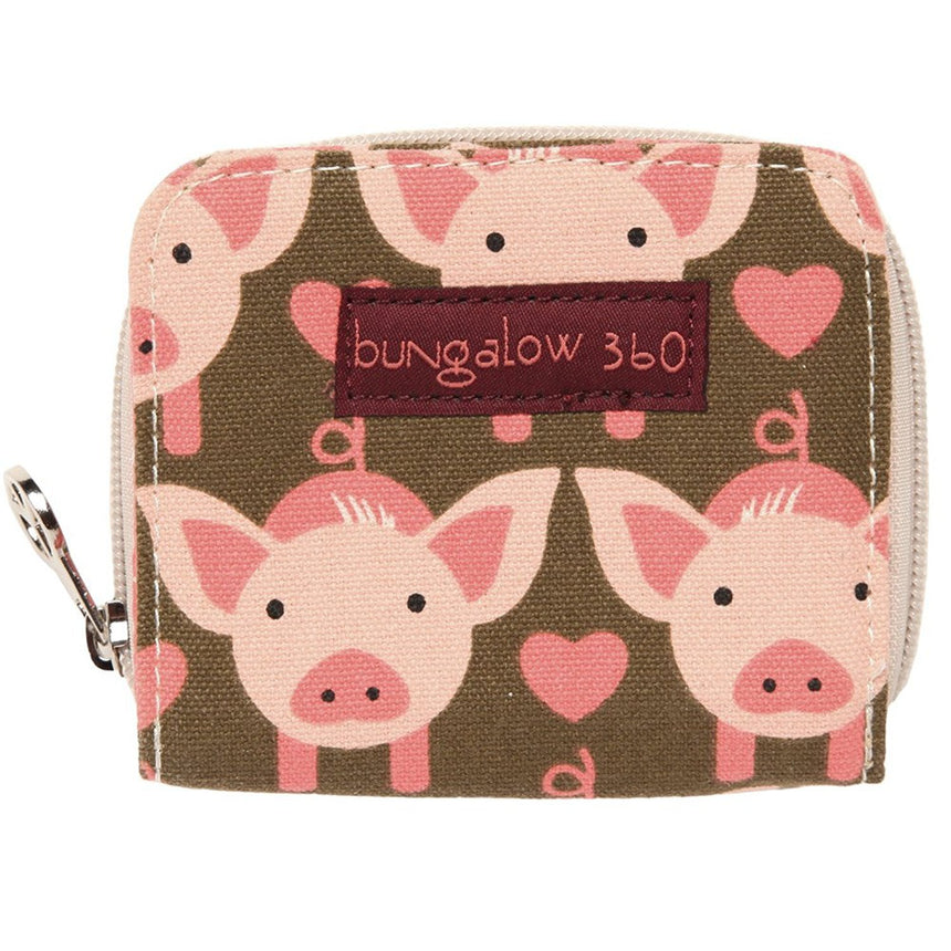Pig Billfold Wallet