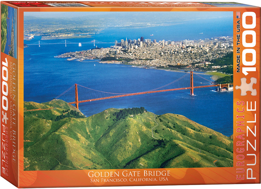 Golden Gate Bridge California 1000-Piece Puzzle