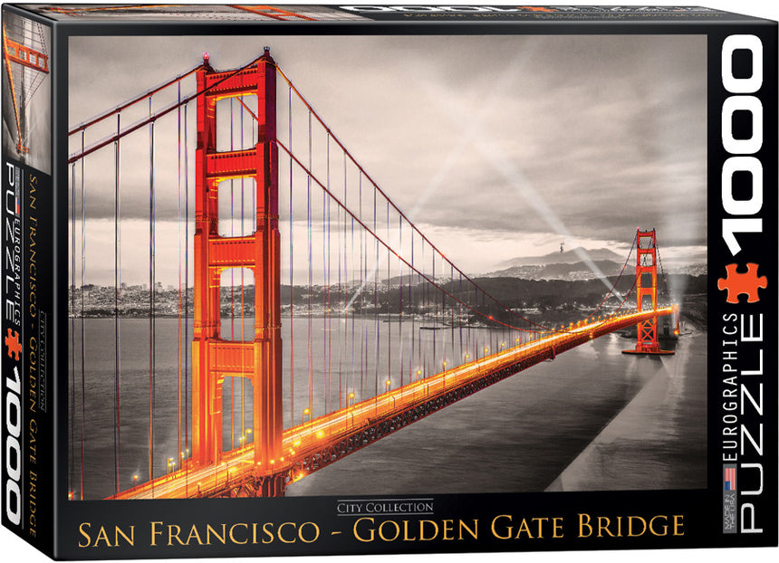 San Francisco Golden Gate Bridge 1000-Piece Puzzle