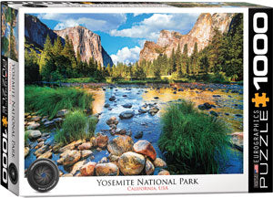 Yosemite National Park California 1000-Piece Puzzle