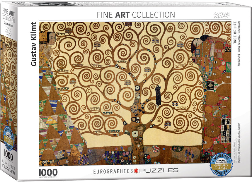 Tree of Life by Gustav Klimt 1000-Piece Puzzle
