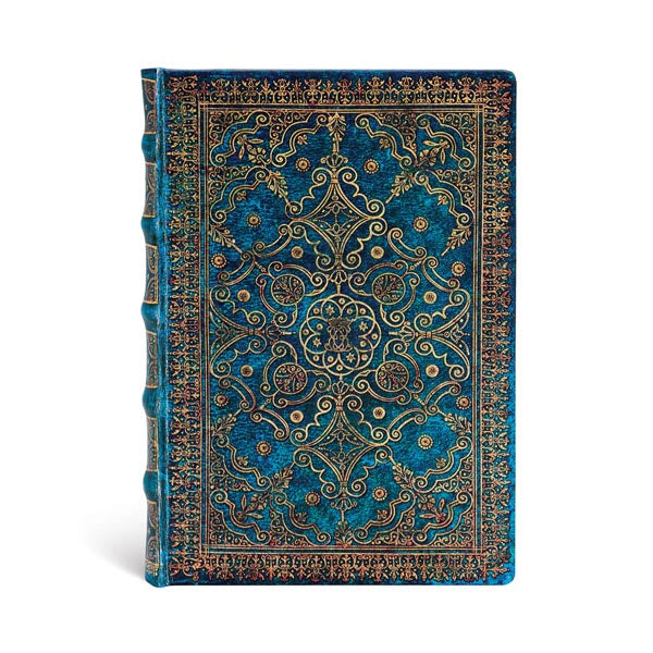 Azure Midi Lined Journal