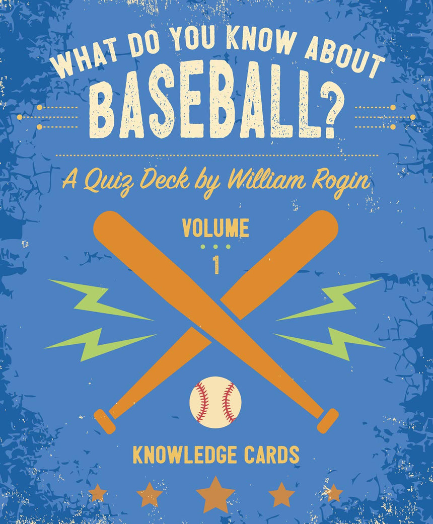 What Do You Know About Baseball? Deck