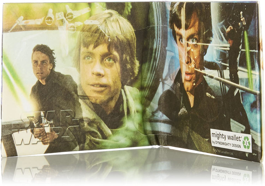 Luke Skywalker Collage Mighty Wallet