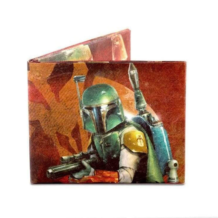 Boba Fett On The Hunt Mighty Wallet