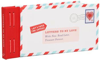 Letters to My Love Paper Time Capsule