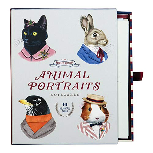 The Berkeley Bestiary Animal Portrait Notecards