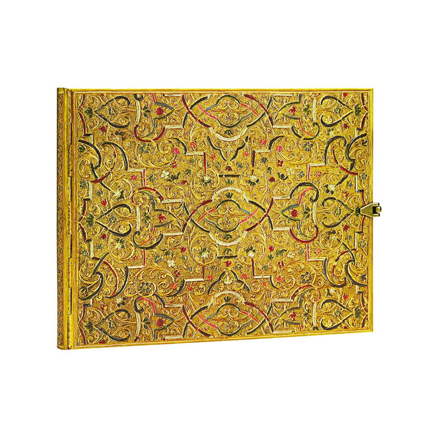 Gold Inlay Guest Book