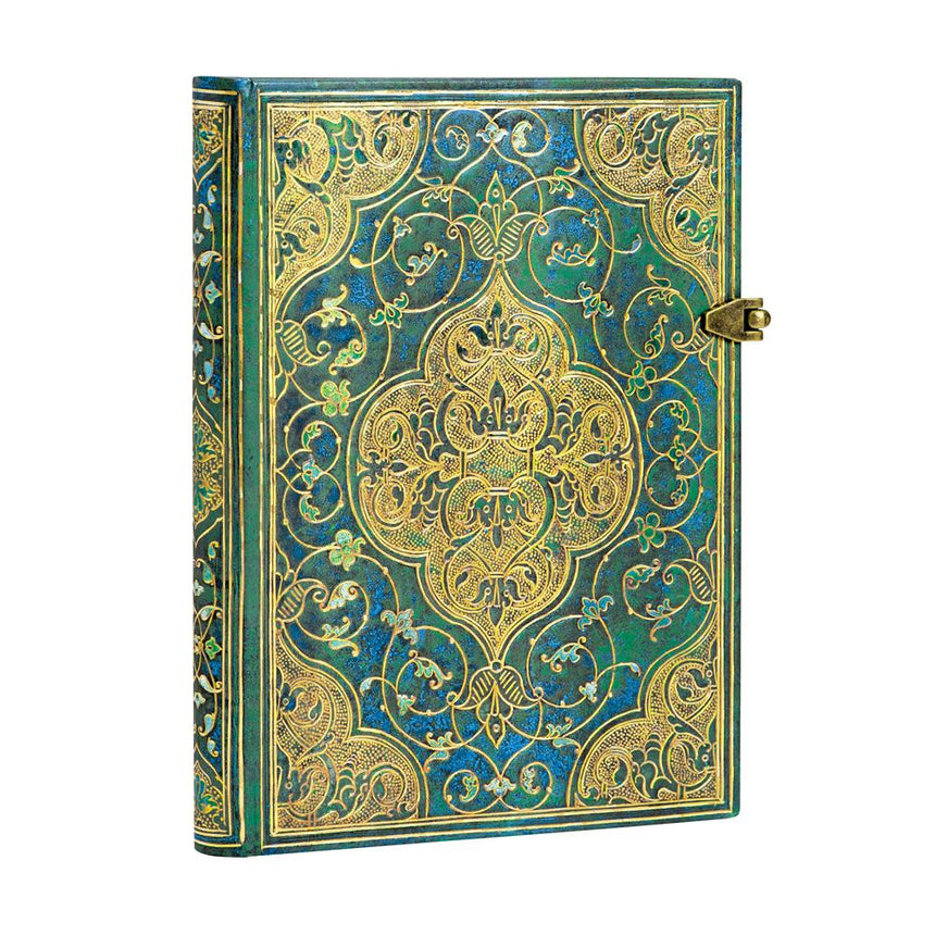 Turquoise Chronicles Midi Journal