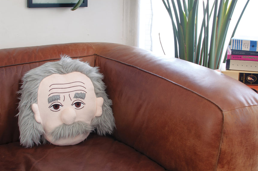 Einstein Stuffed Portrait
