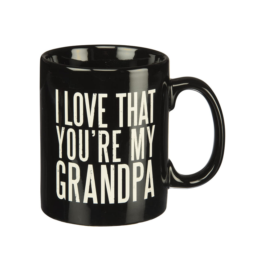 I Love That You're My Grandpa Mug