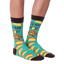 Men's You Had Me At Tacos Crew Socks in Turquoise