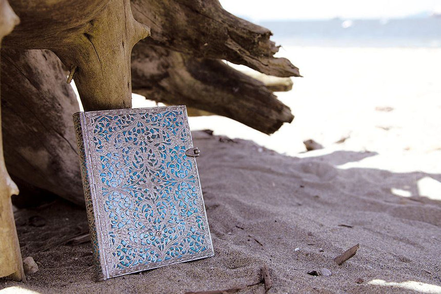 Maya Blue Midi Journal