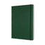 "Moleskine Classic Ruled Notebook Green Hard Cover XL (7.5"" x 9.5"")"