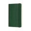 "Moleskine Classic Ruled Notebook Green Soft Cover Small (3.5"" x 5.5"")"