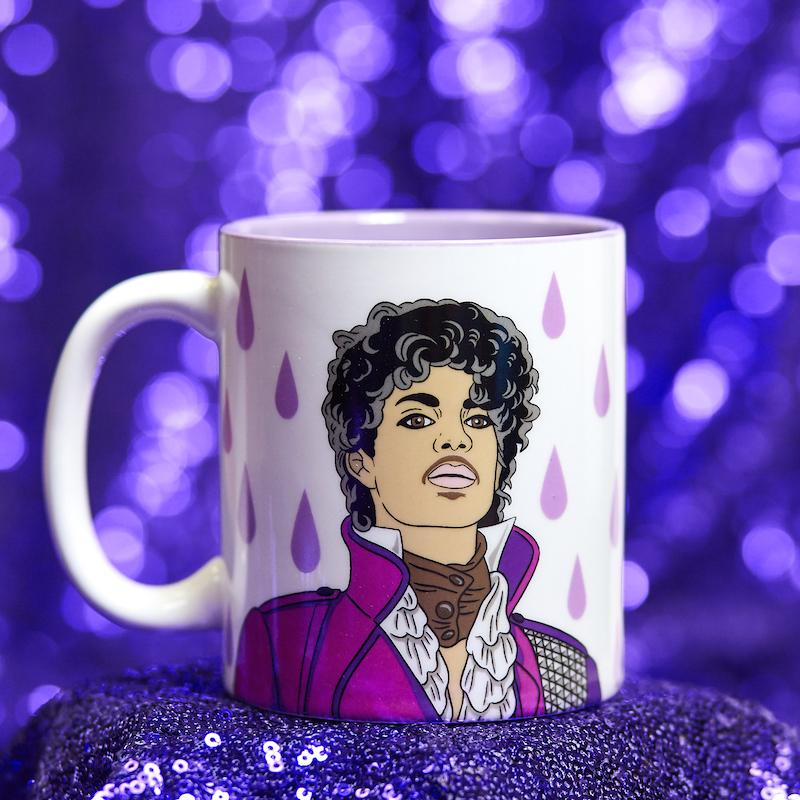 The Found Mug - Purple Rain