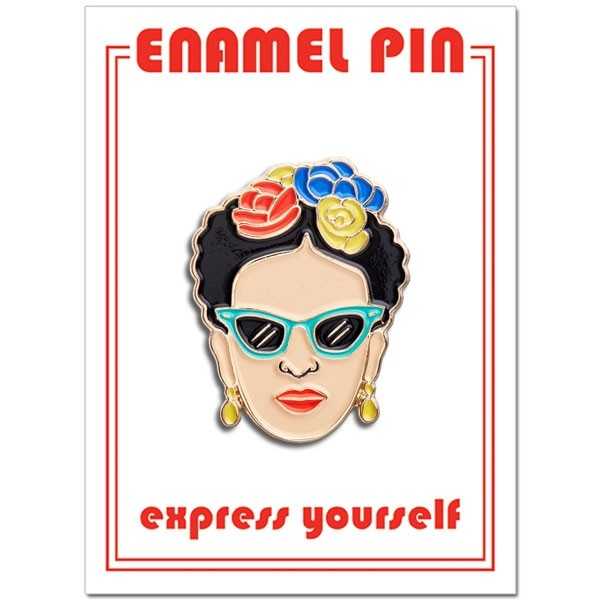 The Found Frida Sunglasses Pin