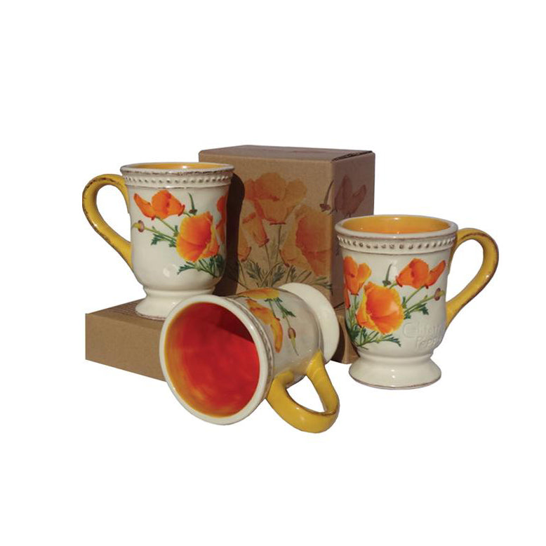 California Poppy Mug