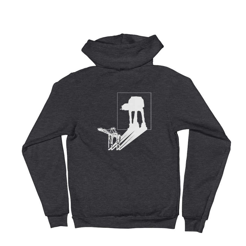 AT-AT Shadow Unisex Zip Hoodie