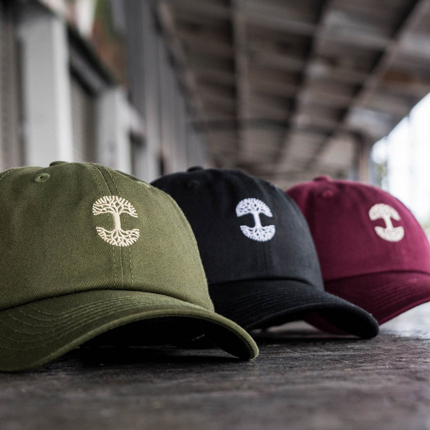 Oaklandish Mini Logo Dad Hat Olive