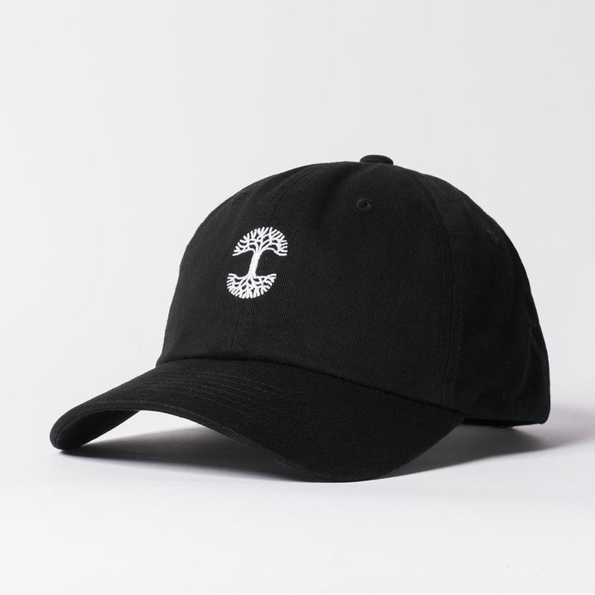Micro Logo Dad Hat Black