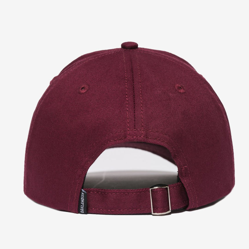 Oaklandish Mini Logo Dad Hat Burgundy