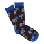 Men's Democratic Party Crew Socks in Black