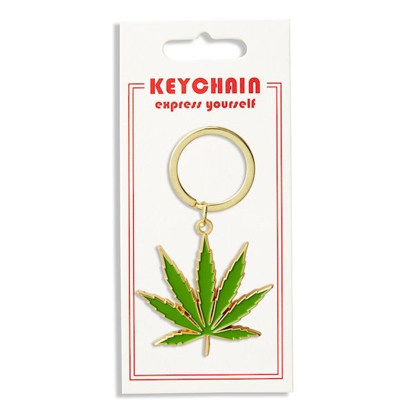 The Found Marijuana Keychain